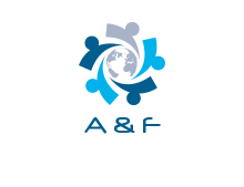 a and f logo