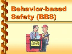 Behaviour based safety training