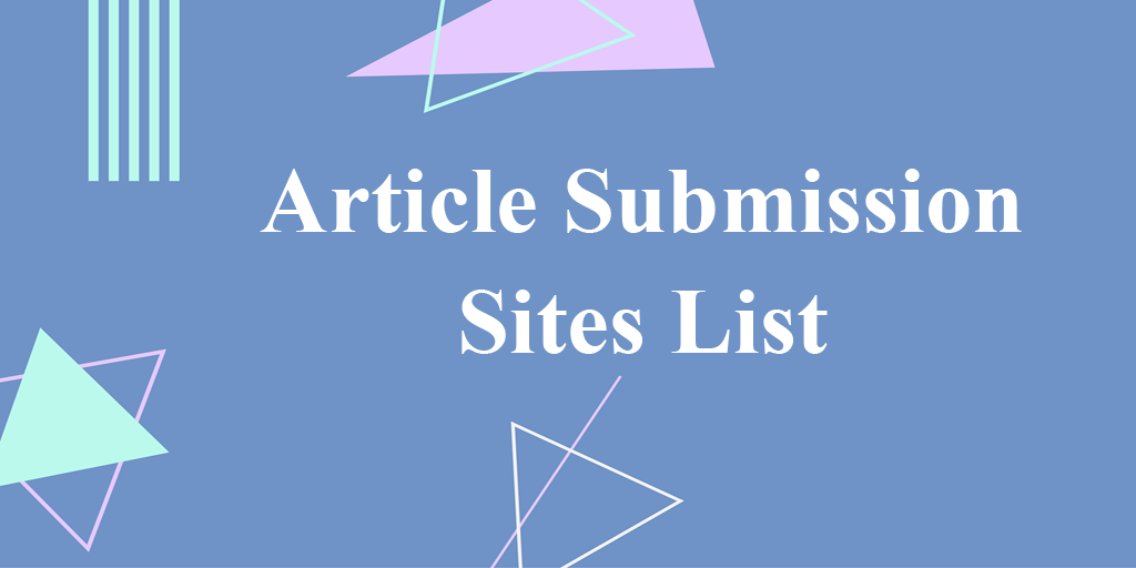 article-submission-sites