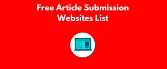 Top Article Submission Websites August 2020 Free